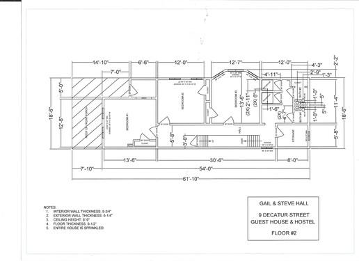 lodging, 9 Decatur Guest House & Hostel Cumberland, MD Floor Plans